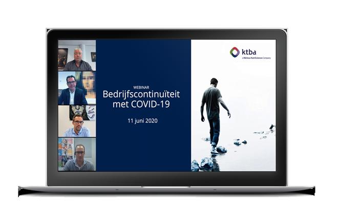 Webinar bedrijfscontinuiteit met COVID19